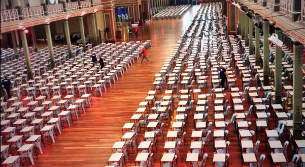 Melb Uni Exams at REB
