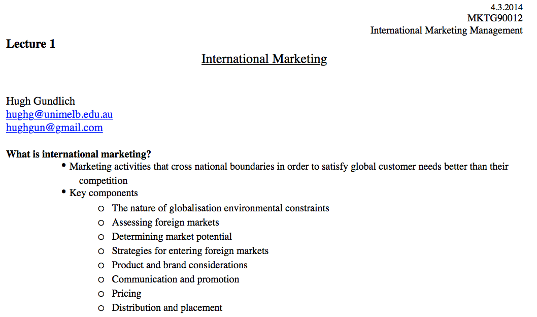 international marketing management 2015 Global marketing vs international marketing – i have noticed, are perceived the same by several marketers worldwide however, they are definitely not the same international marketing involves the marketing tactics adopted by knowledgeable marketers in different countries specific to the markets .