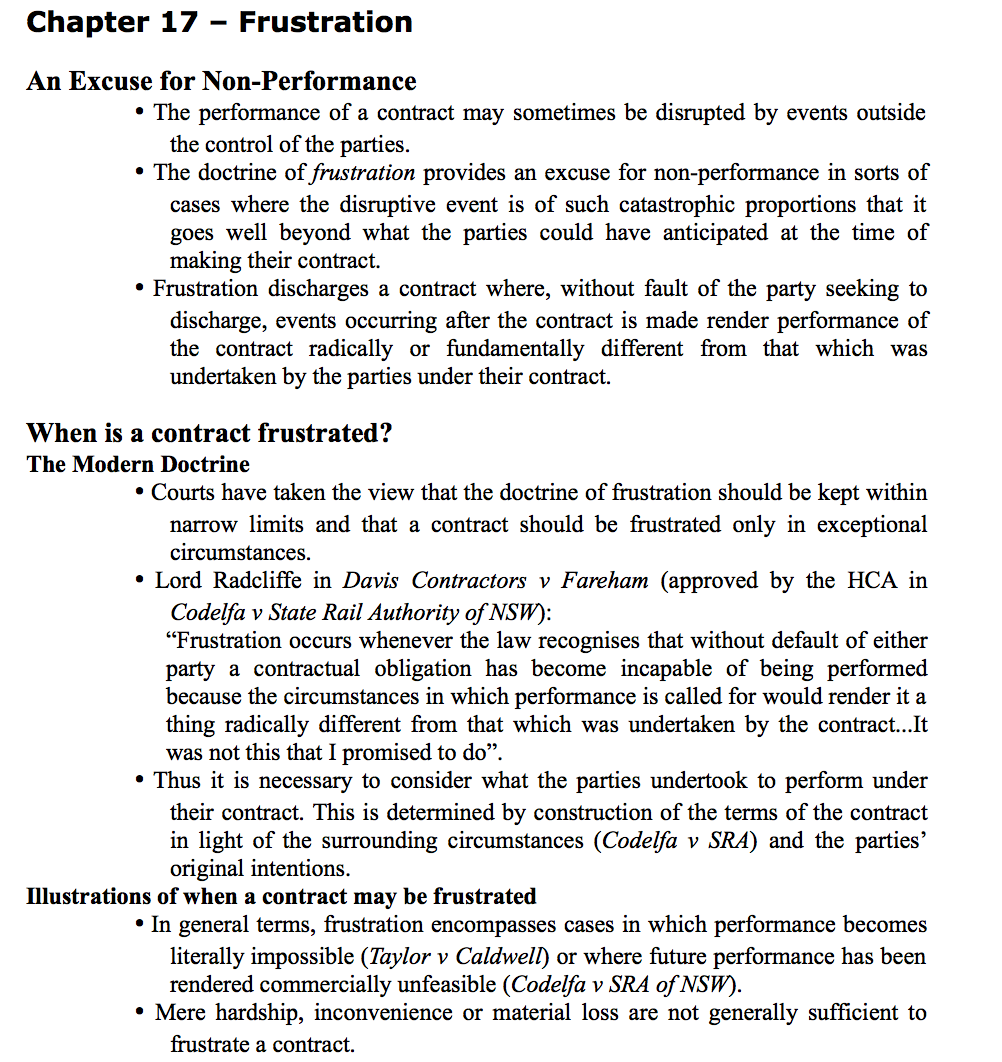 Law2102 contract b notexchange for B b contract
