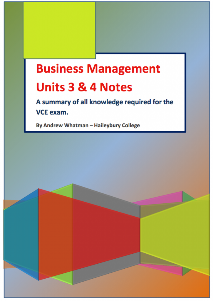 business management vce Business management leads to a huge range of courses and careers, including advertising, marketing, banking, finance, real estate and economic planning.