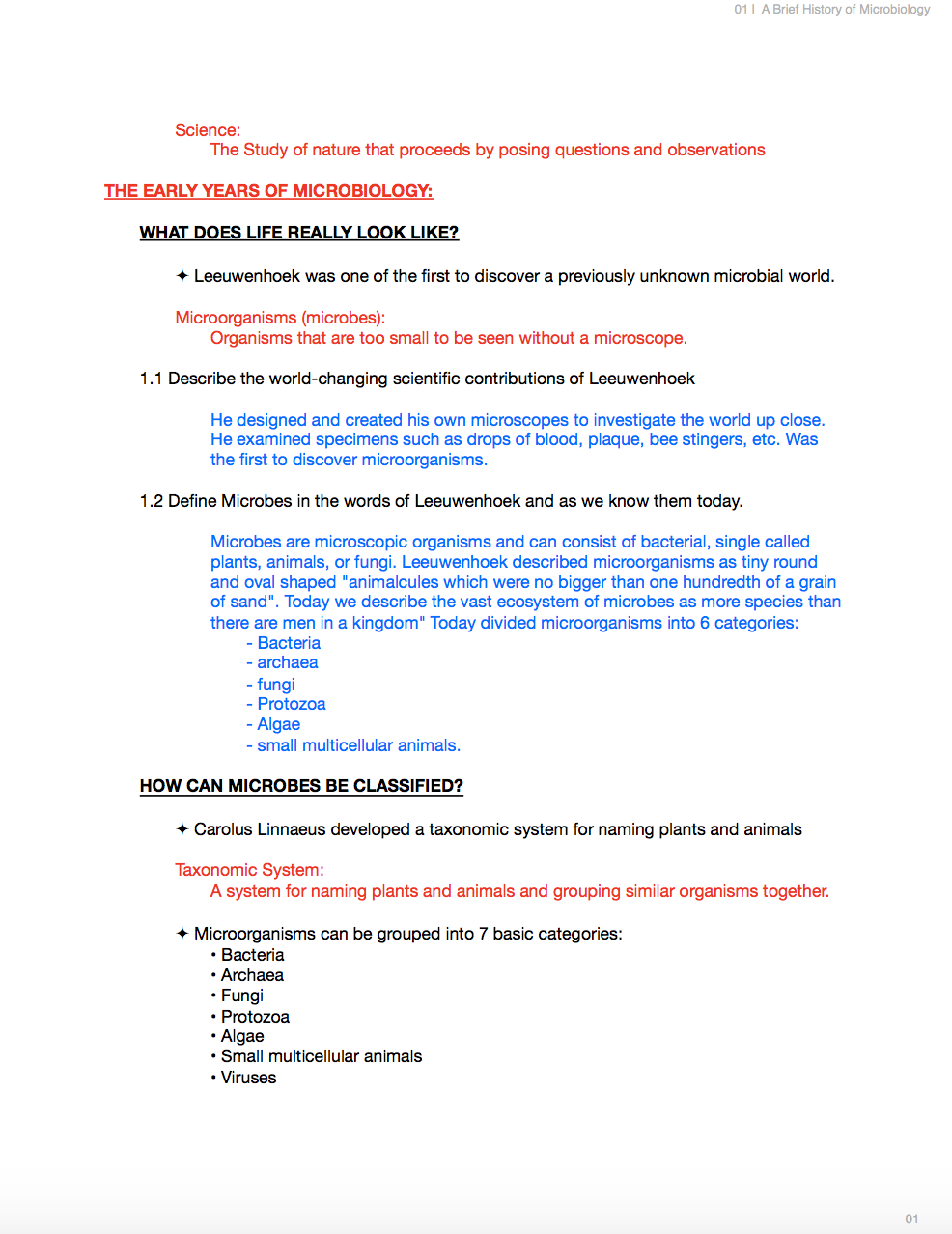 BIO229 - Microbiology Notes - NoteXchange